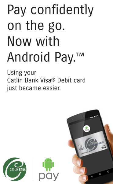 Catlin Bank - Android Pay