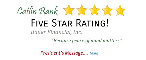 Catlin Bank - 5 Star Rating